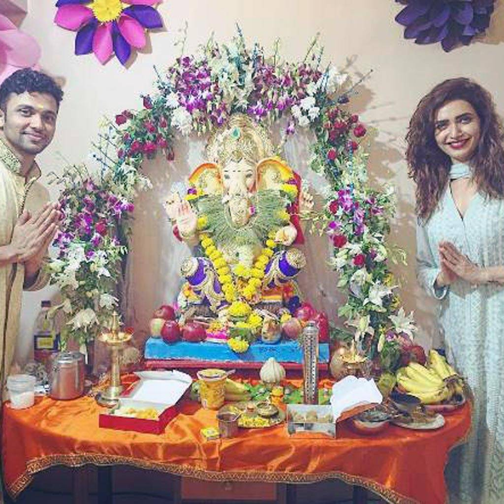 Ganesh Chaturthi festivities have just begun; here's how TV celebs like Mouni Roy, Manish Paul, Gurmeet Choudhary, Ruhanika Dhawan are celebrating the festival.