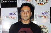 Iqbal Khan at the launch of the Box Cricket League Gujarat