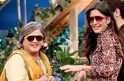 Kapil Sharma, Ali Asgar, Katrina Kaif, and Sidharth Malhotra on the sets of the show