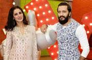 Riteish Deshmukh and Nargis Fakhri made The Voice India Kids even more musical as they promoted their upcoming movie Banjo on the kids' reality show.