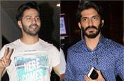 Varun Kapoor was seen grabbing dinner with friends and rumoured girlfriend Natasha Dalal, while Harshvardhan Kapoor was seen coming back to the city after Mirzya promotions.