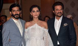 From sister Sonam Kapoor to dad Anil Kapoor, the entire Kapoor khandaan joined Harshvardhan Kapoor at the music launch of his upcoming film Mirzya.