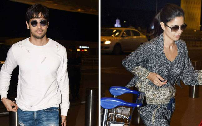 While Baar Baar Dekho stars Sidharth Malhotra and Katrina Kaif were seen at the Mumbai international airport, Amitabh Bachchan and Taapsee Pannu were spotted at Mehboob Studio.