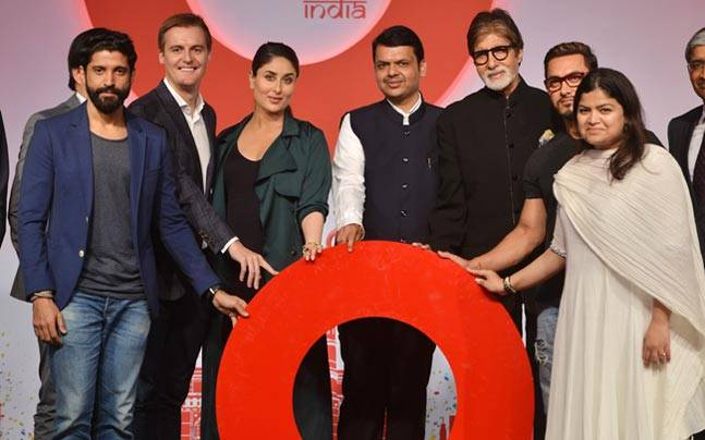Bollywood celebrities Amitabh Bachchan, Aamir Khan, Kareena Kapoor, Tisca Chopra and Farhan Akhtar said they would be part of social action platform and The Global Education and Leadership Foundation, which was launched on Monday evening. Maharashtra CM D