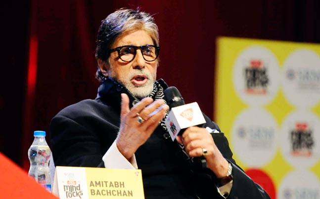 Bollywood megastar Amitabh Bachchan, who is basking in the success of his Pink, spoke about the film, his letters to granddaughters and women empowerment at Mind Rocks 2016.
