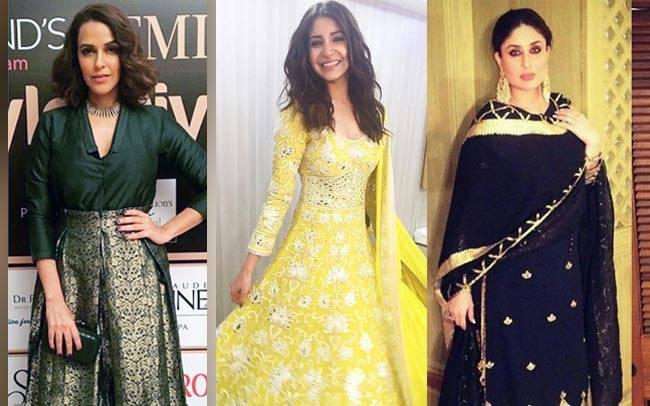 Kareena Kapoor Khan, Anushka Sharma, Neha Dhupia