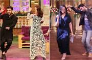 Ae Dil Hai Mushkil stars had a blast on the sets of reality shows TKSS, and Comedy Nights Bachao Taaza; see pics