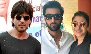SRK, Ranbir-Anushka