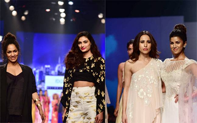 With A-list celebs like Athiya Shetty and Nimrat Kaur playing showstoppers on Day 4, the fashion affair took a glamorous turn at the Amazon India Fashion Week.