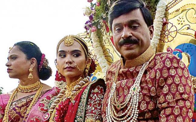 Mining baron Janardhan Reddy's daughter Brahmani is all set to tie the knot in a grand ceremony that is already making headlines for all the wrong reasons.