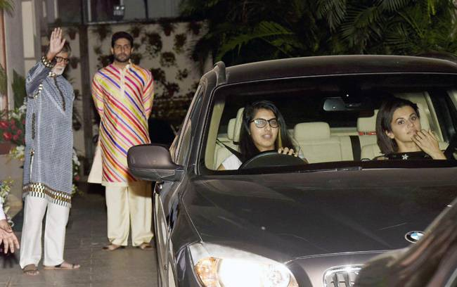From leading ladies Taapsee Pannu, Kriti Kulhari and Andrea Tariang to producer Shoojit Sircar, director Aniruddha Roy Chowdhury and frequent collaborator R Balki were seen attending the birthday bash.