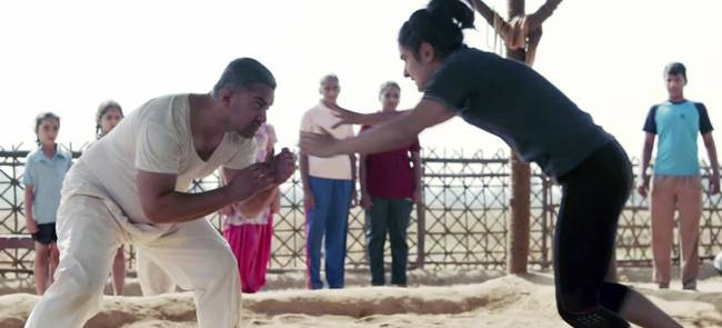 Why does Aamir Khan sign one film a year? If you are still asking this question, you need to put everything down right now and watch the trailer of his upcoming film Dangal to get your answer. The trailer of Dangal is out and we can't stop talking about i