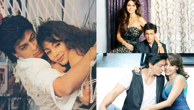 The eternal jodi of Shah Rukh Khan and Gauri Khan turned 25 years today. The story of the Delhi boy Shah Rukh and the coy girl Gauri and their relationship has become part of Bollywood legend. Here are some of their best pictures.