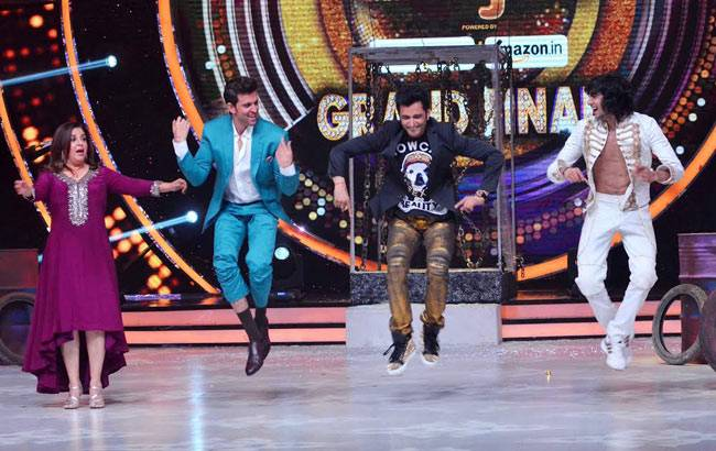 Hrithik Roshan on Jhalak's grand finale.