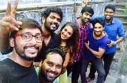 As the Tamil black comedy film Naanum Rowdy Dhaan turned a year yesterday (October 21), director Vignesh Shivan and actors Nayanthara, Vijay Sethupathi and RJ Balaji were clicked at the reunion party.