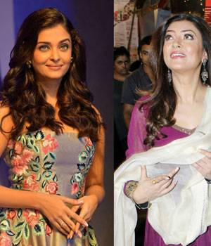 While Kajol celebrated Durga Puja at Juhu, Sushmita Sen was seen with her daughters at a Durga Puja pandal in Bandra. Meanwhile, Aishwarya Rai Bachchan looked ravishing at an awards function.