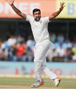 R Ashwin, India-New Zealand