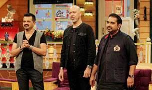 Kapil Sharma, Shankar, Ehsaan, and Loy
