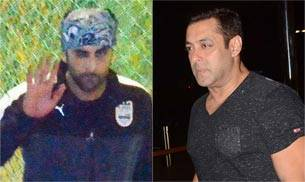 While Ranbir Kapoor was clicked by the shutterbugs in Bandra, Sultan star Salman Khan was snapped at an airport.