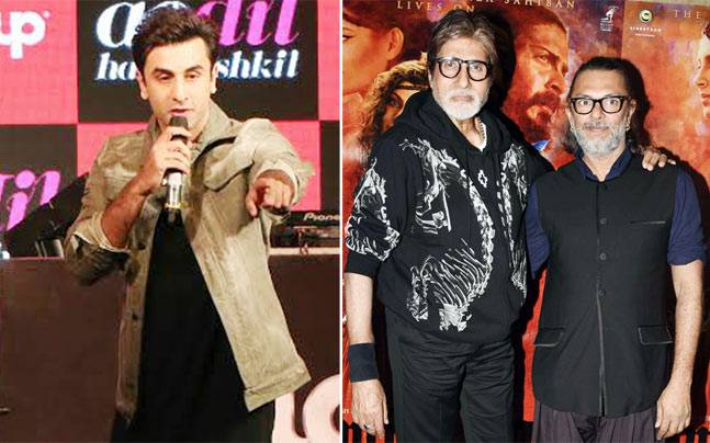 Ranbir Kapoor interacted, sang and danced with fans at a promotional event for a brand and his film, Amitabh Bachchan bonded with director Rakeysh Omprakash Mehra at the Mirzya screening.