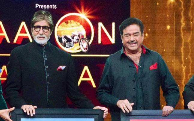 Amitabh Bachchan,Shatrughan Sinha
