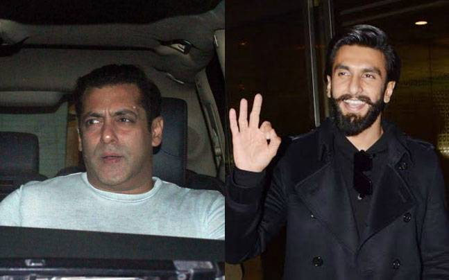 While superstar Salman Khan was seen at Chunky Pandey's house, Ranveer Singh was clicked at the airport.