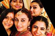 See pics: OMG! Rani Mukerji looked oh-so-stunning in Sabyasachi red