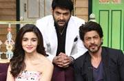 SRK and Alia Bhatt came to The Kapil Sharma Show for promoting their upcoming film Dear Zindagi. Take a look.