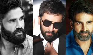 No Shave November is here and it's time for all you men out there to flaunt your gorgeous facial hair. Here's the best of Bollywood from Shah Rukh Khan to Ranbir Kapoor to Akshay Kumar showing you how it's done.