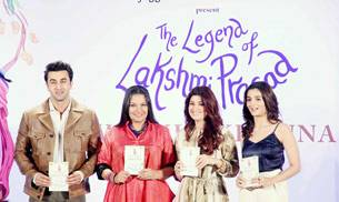 From hubby Akshay Kumar to buddies Sussanne Khan and Alia Bhatt, the launch of Twinkle Khanna's second book, The Legend of Laxmi Prasad--a collection of four short stories--saw the who's who of B-Town in attendance.