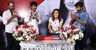 As the lady superstar turned 32 yesterday (November 18), Nayanthara celebrated her birthday with actor Sivakarthikeyan and director Mohan Raja.