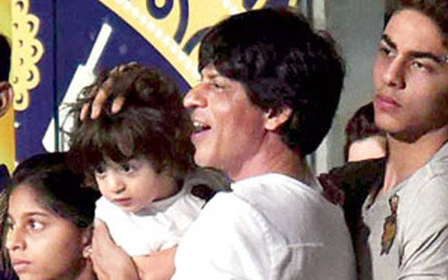 Shah Rukh and his kids