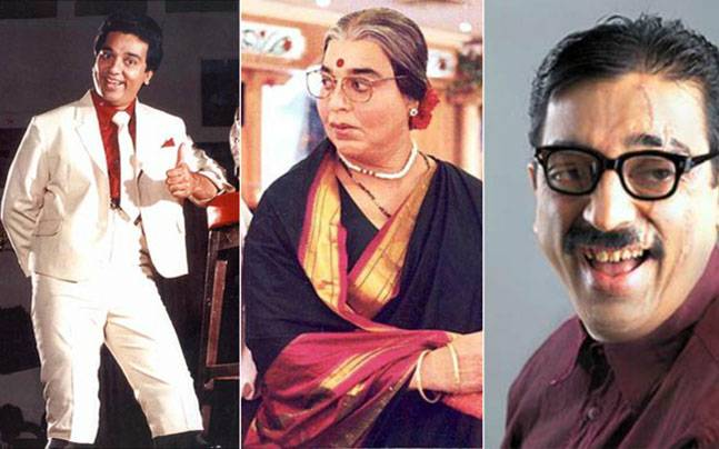 As Kamal Haasan turns 62 today, we take a look at 10 memorable characters played by the Vishwaroopam star that made a LOT of noise.