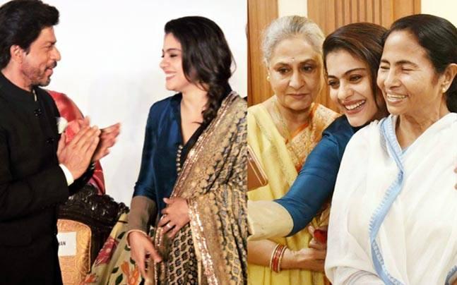 Shah Rukh Khan, Amitabh Bachchan and Jaya Bachchan, Kajol, Parineeti Chopra and Sanjay Dutt were among the Bollywood celebs who attened the 2016 Kolkata International Film Festival's inauguration. Here are the pictures.