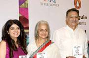 Many celebrities and actors attended the launch of Dr. Anjali Chhabria's book, Death is Not the Answer.