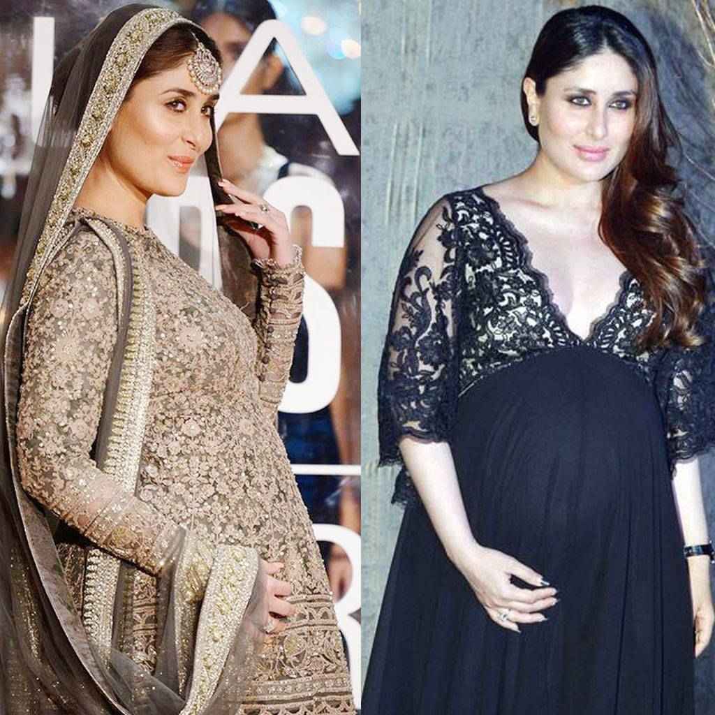 Kareena Kapoor Khan and Saif Ali Khan became parents to a baby boy this morning. With the wait finally over, we trace Kareena's motherhood journey through these 10 stunning pictures.