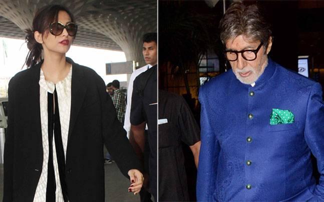 Amitabh Bachchan and Sonam Kapoor