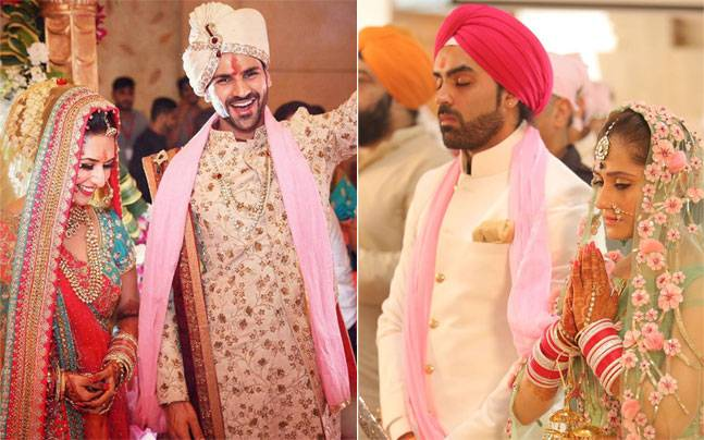 Be it Divyanka Tripathi and Vivek Dahiya's monsoon nuptials or Hunar Hale and Mayank Gandhi's gurudwara wedding, it's time to look back at the biggest telly weddings of 2016.