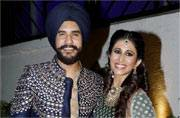 IN PICTURES: Suyyash Rai-Kishwer Merchantt's Sangeet was a rocking affair!
