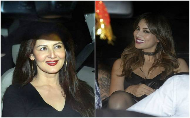 Superstar Salman Khan turns 51 today. From Sushant Singh Rajput to Preity Zinta, Bollywood celebrities were clicked at the Sultan star's birthday bash. Here are the pictures.