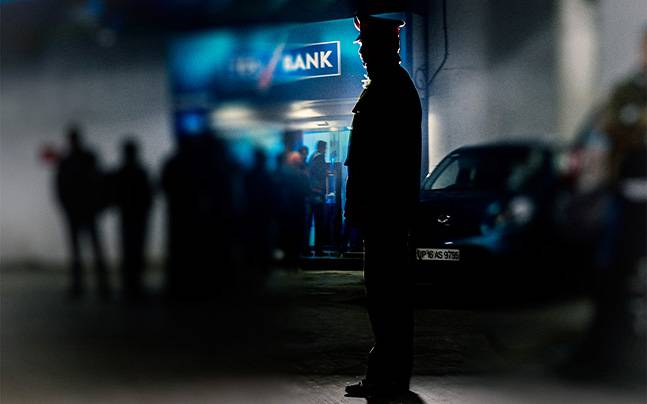 #myPersonOfTheYear is undoubtedly, the ATM guard.