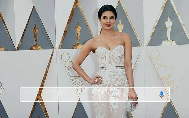Google's most-searched gowns' list also featured desi girl Priyanka Chopra's Oscar number. Is your favourite one on the list?