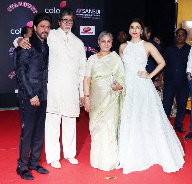 The Stardust Awards were a star-studded affair, with all the bigwigs from Bollywood in attendance.