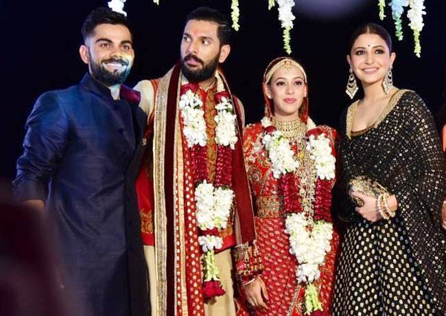 2016 saw some of the big names of Bollywood taking that next step in their relationship. From Yuvraj Singh-Hazel Keech to Bipasha Basu-Karan Singh Grover, many tied the knot this year.