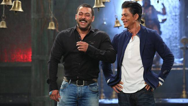 Salman and Shah Rukh are no long enemies or frenemies but pure and simple friends. The public spat that they had back in 2008, when they exchanged blows at Katrina Kaif's birthday party, is a thing of the past now.