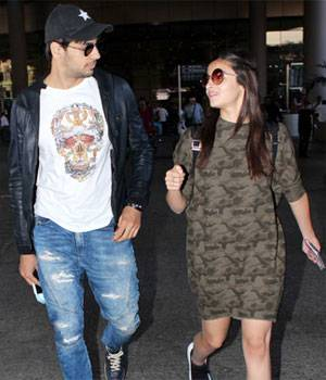 Saif Ali Khan made his way to the hospital to visit his wife Kareena and newborn baby, while rumoured couple Sidharth Malhotra and Alia Bhatt grabbed eyeballs at the airport.