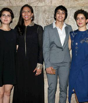 Wrestlers Geeta Phogat and Babita Phogat came to attend the screening of Aamir Khan's Dangal. The film, which is based on the lives of Phogat sisters, is set to hit the screens on December 23.