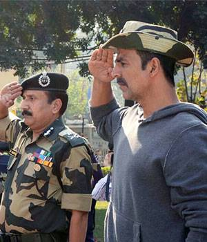 2016 saw the weakening of bilateral ties between India and Pakistan, a spate of attacks on the country and the exemplary courage of our armed forces. Bollywood too showed its support to the unsung heroes. Here are the some of the celebs' most patriotic mo