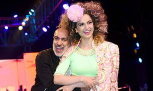 Manish Arora is all about colour, and making his colours pop at this year's Blender's Pride Fashion Tour is none other than Bollywood's Queen, Kangana Ranaut.