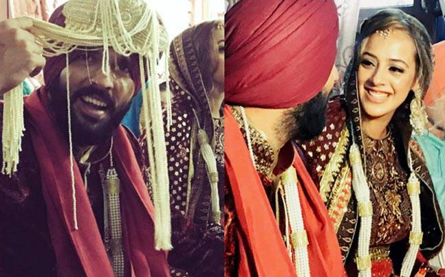 Yuvraj Singh got hitched to long-time girlfriend Hazel Keech on November 30 at the Fatehgarh Sahib gurudwara, 40 kilometres away from Chandigarh. Here are photos from the proceedings.